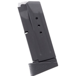 SMITH & WESSON M&P 9 COMPACT 9MM 10 ROUND MAGAZINE WITH FINGER REST BLUED 19463