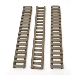 ERGO 18-SLOT LOW-PRO LADDER RAIL COVER DESERT EARTH 3 PACK 4373-3PK-DE
