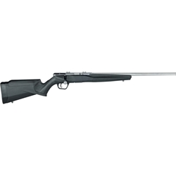 "SAVAGE B17 17HMR STAINLESS/SYNTHETIC 21"" 70802"
