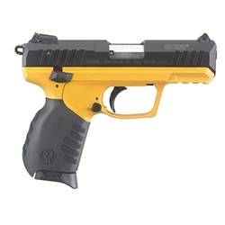 "RUGER SR22 22LR 3.5"" BLACK/YELLOW 3624"