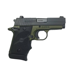 SIG SAUER P938 ARMY 9MM NIT/GREEN SLITE SI9389AGFAMBI