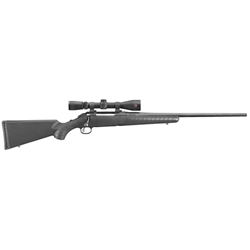 "RUGER AMERICAN RIFLE 243WIN 22"" BLUED/SYNTHETIC W/ REDFIELD 3-9X40 SCOPE 6954"