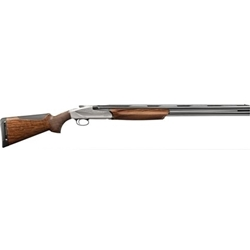 BENELLI 828U 12/28 AA-GRADE SATIN WALNUT ENGRAVED NICKEL-PLATED RECEIVER 10704