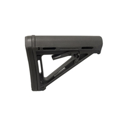 Magpul Industries, MOE Carbine Stock, Fits AR-15, Commercial, Black Finish MPIMAG401BLK