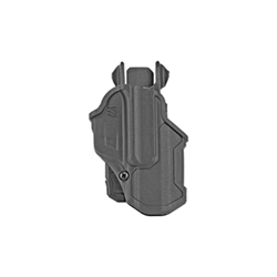 BLACKHAWK, T-Series, Level 2 Compact, Right Hand, Black, Fits Glock 17, Polymer