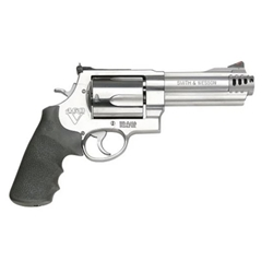 "SMITH & WESSON 460V 460SW STAINLESS/SYNTHETIC 5"" 5 ROUND 163465"