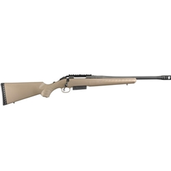"RUGER AMERICAN RIFLE 450 BUSHMASTER 16"" FDE 16950"